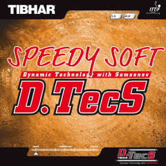 Tibhar Rubber Speedy Soft D.TecS