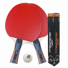 GEWO 3er Spar-Set CS Energy Carbon+3Stern Trainingsball 6er