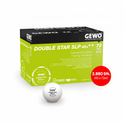 GEWO Ball Double Star SLP40+ 2880 pcs (40 x 72er)