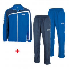 GEWO 3er Set Trainingsjacket Tarent + 2 Pants royal+navy